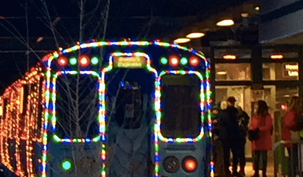 Hop Aboard the CTA and Ride the 'Holiday Express'