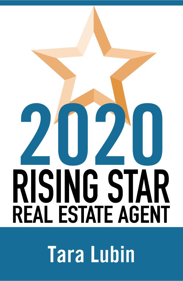 Tara Lubin 2020 Rising Start Real Estate Agent